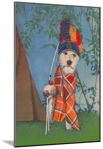 Indian Dog--Mounted Art Print
