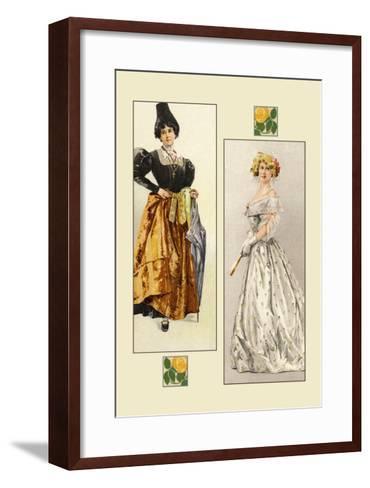 Haute-Couture--Framed Art Print