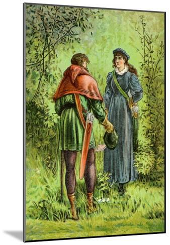 Robin Hood and Maid Marian--Mounted Art Print