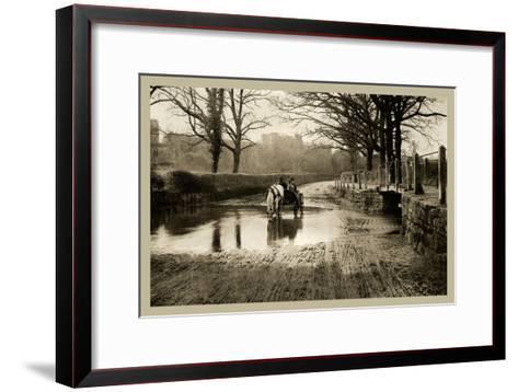 First Glimpse of Kenilworth--Framed Art Print