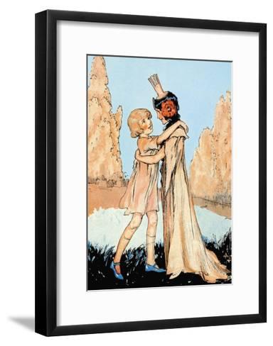 Betsy and Ozma-John R^ Neill-Framed Art Print
