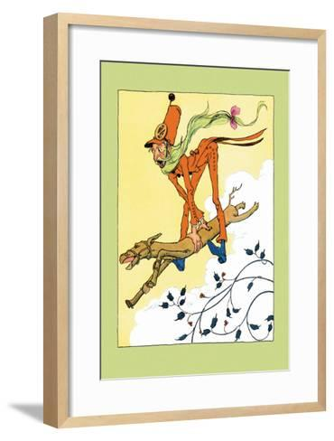Grand Army and Saw-Horse-John R^ Neill-Framed Art Print