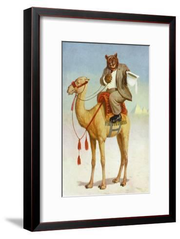 Teddy Roosevelt's Bears: A Yankee Bear-R.k. Culver-Framed Art Print