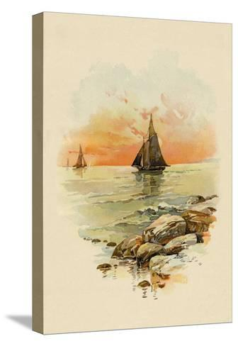 Sun Sets--Stretched Canvas Print