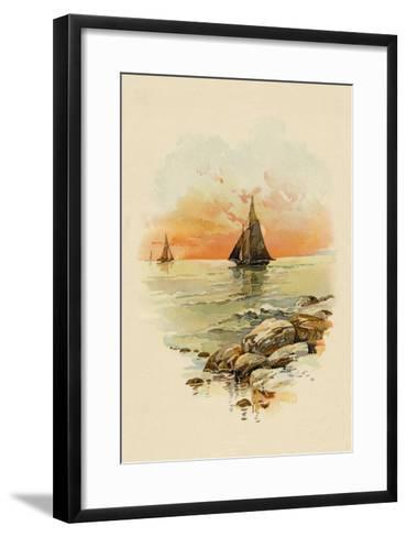 Sun Sets--Framed Art Print