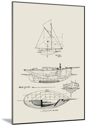 Single-Hand Cruiser-Charles P^ Kunhardt-Mounted Art Print