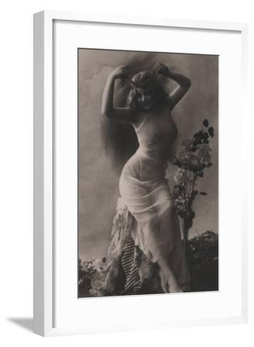 The Pearl Diadem--Framed Art Print