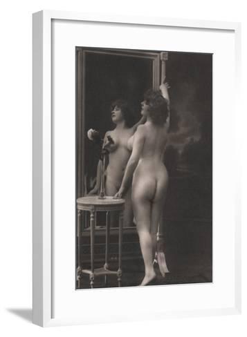Friendly Mirror--Framed Art Print