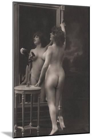 Friendly Mirror--Mounted Photo
