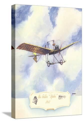 The Fokker Spider, 1912-Charles H. Hubbell-Stretched Canvas Print
