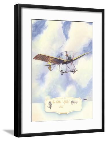 The Fokker Spider, 1912-Charles H. Hubbell-Framed Art Print