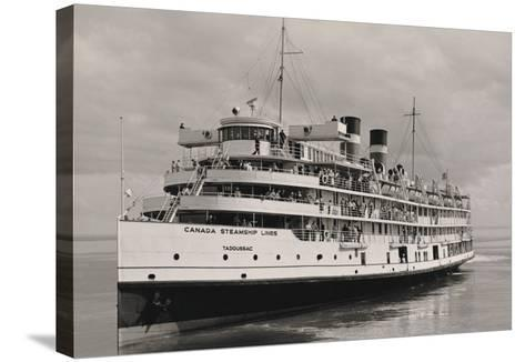 The Canada Steamships Lines--Stretched Canvas Print