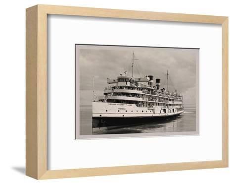 The Canada Steamships Lines--Framed Art Print
