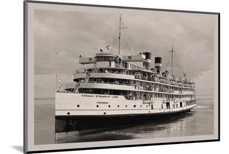 The Canada Steamships Lines--Mounted Photo
