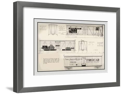 Missouri Pacific, Frigicar--Framed Art Print