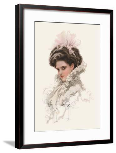 Your Dreams Have Never Known a World So Fair-Harrison Fisher-Framed Art Print