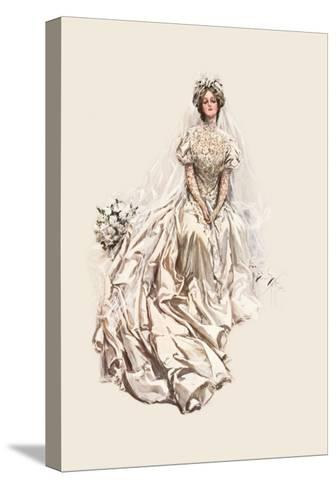Beautiful Bride-Harrison Fisher-Stretched Canvas Print