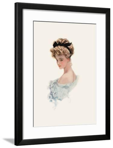 Her Eyes Were Made to Worship-Harrison Fisher-Framed Art Print