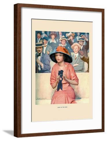 Jack in the Box-Robert K. Ryland-Framed Art Print