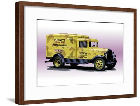 Sanchez Cheese Truck--Framed Art Print