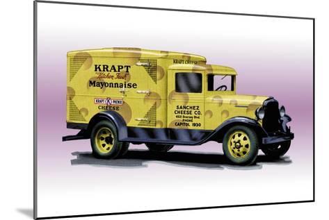 Sanchez Cheese Truck--Mounted Art Print