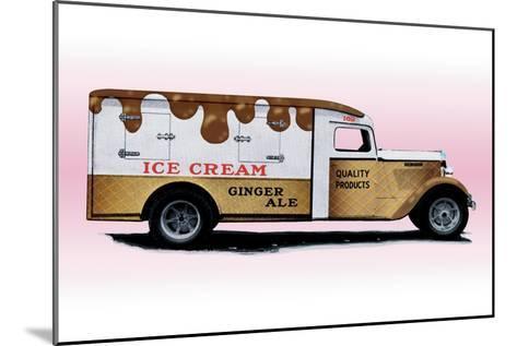 Ice Cream Truck--Mounted Art Print