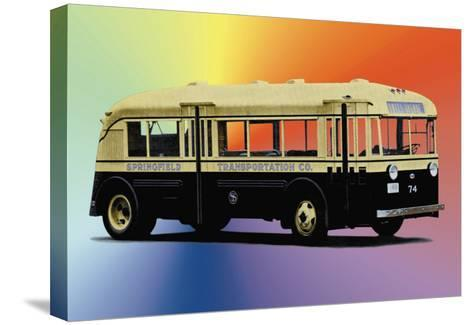 Springfield Transportation Company Bus--Stretched Canvas Print