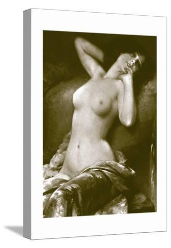 Radiant Nude--Stretched Canvas Print