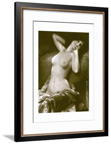 Radiant Nude--Framed Art Print