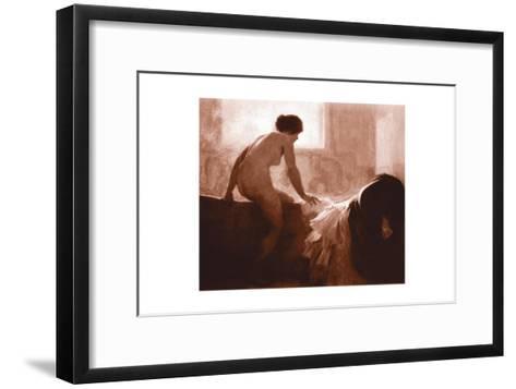 Into the Bath--Framed Art Print