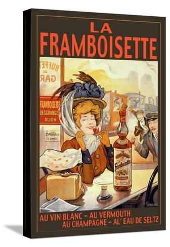 La Framboisette-Francisco Tamagno-Stretched Canvas Print