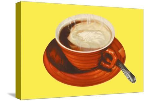 Hot Cup of Cocoa--Stretched Canvas Print