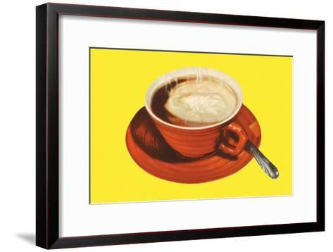 Hot Cup of Cocoa--Framed Art Print