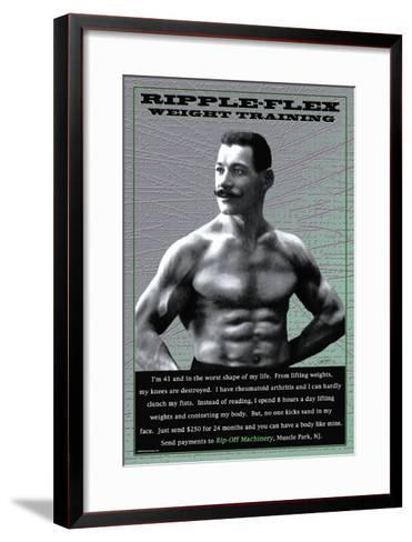 Ripple-Flex Weight Training--Framed Art Print