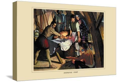 Ambroise Pare-Robert Thom-Stretched Canvas Print