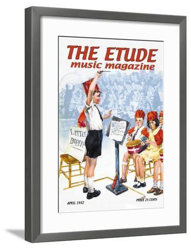 The Etude: Children's Orchestra--Framed Art Print