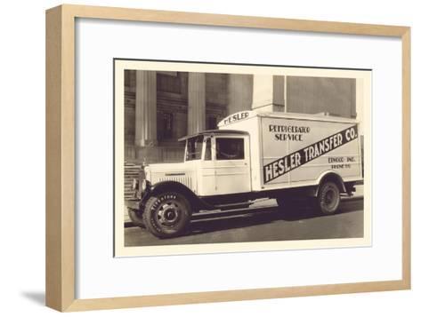 Hesler Transfer Co.--Framed Art Print
