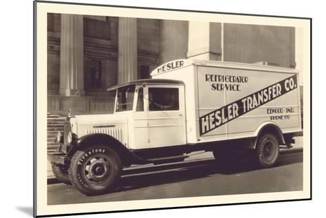 Hesler Transfer Co.--Mounted Art Print