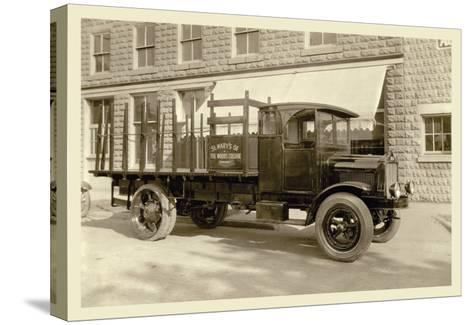 St. Mary's Truck--Stretched Canvas Print