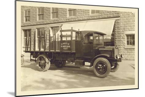 St. Mary's Truck--Mounted Art Print