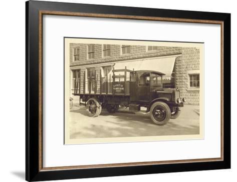 St. Mary's Truck--Framed Art Print