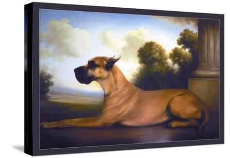 Recumbent Great Dane-Christine Merrill-Stretched Canvas Print