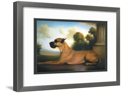 Recumbent Great Dane-Christine Merrill-Framed Art Print