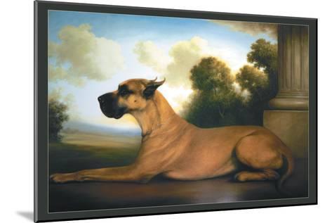 Recumbent Great Dane-Christine Merrill-Mounted Art Print