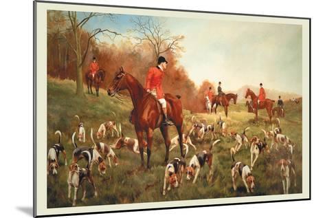 Halted-George Derville Rowlandson-Mounted Art Print