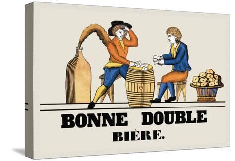 Bonne Double Bier--Stretched Canvas Print