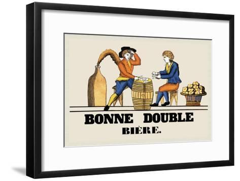 Bonne Double Bier--Framed Art Print