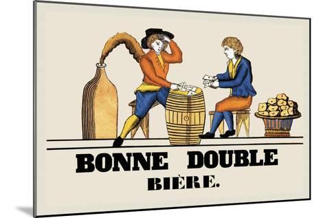 Bonne Double Bier--Mounted Art Print