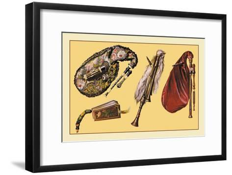 Cornemuse, Calabrian Bagpipe, Musette--Framed Art Print