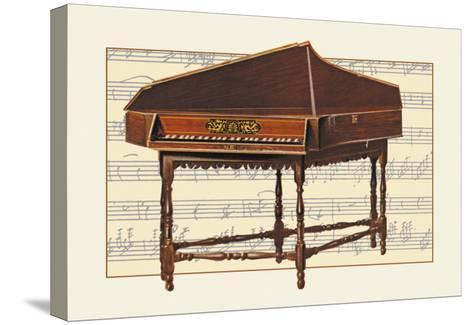 Spinet--Stretched Canvas Print